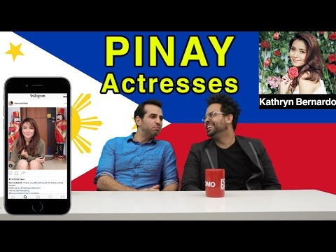 American Guys React to Pinay Celebrities