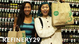 I Went On A Whole Foods Haul With A Food Influencer | With Mi | Refinery29