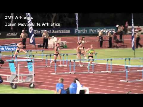2011 Perth Track Classic, Womens 100m hurdles, Sally Pearson, Shannon McCann