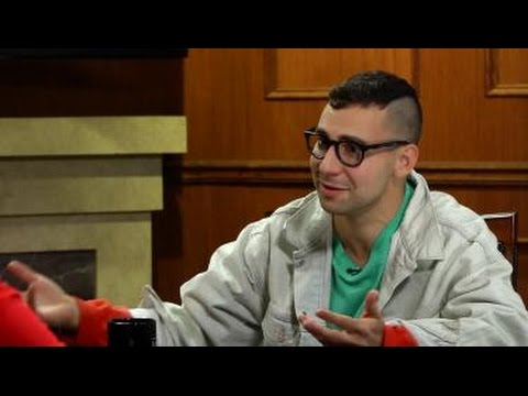 "Jack Antonoff on ""Larry King Now"" - Full Episode in the U.S. on Ora.TV"