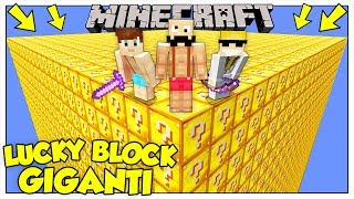 LA SFIDA DEI LUCKY BLOCK GIGANTI! - Minecraft ITA