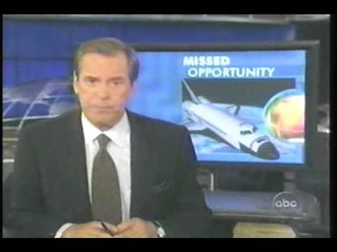 Space Shuttle Columbia Investigation, 2003 - ABC World News - Peter Jennings