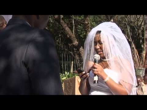 Karabo and zola wedding