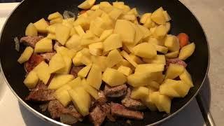 жаркое по- домашнему. что приготовить на ужин?