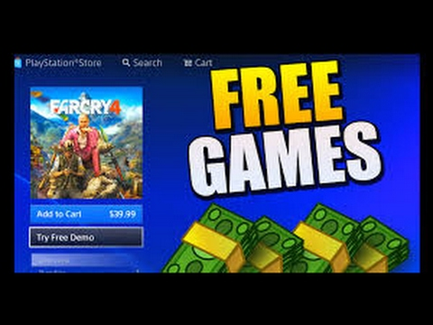 How to get any game for Free!!!! On PS4 #1