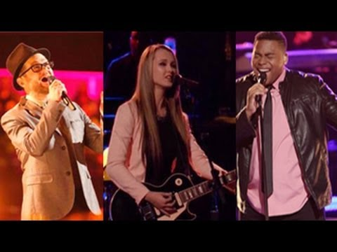 The Voice Season 6 (USA) : Usher Selects His Top 3 Including Favorite Bria Kelly