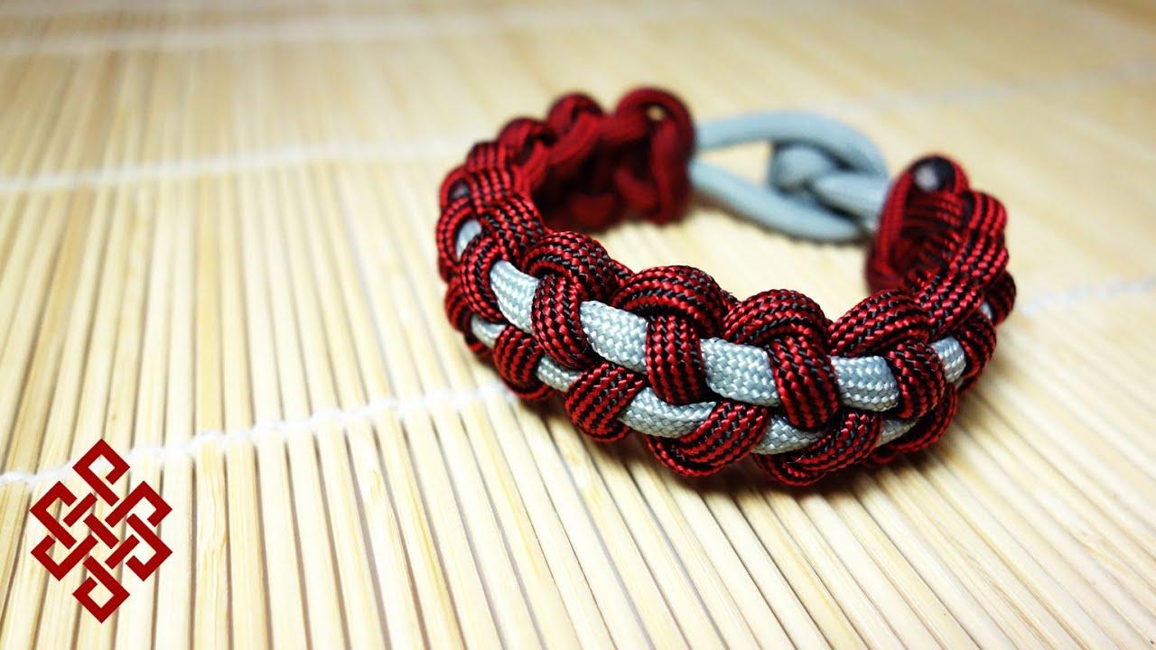 Stitched Paracord Bracelet Stitched Solomon Bar Paracord