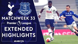 Tottenham v. Everton | PREMIER LEAGUE HIGHLIGHTS | 7/6/2020 | NBC Sports