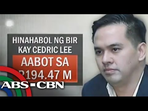 Cedric Lee, accused of tax evasion
