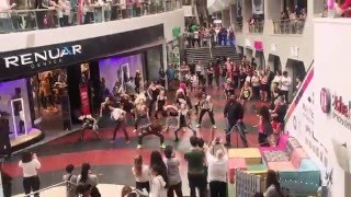 Flash Mob ZUMBA Shiran Azran- Dizengoff Center Tel Aviv- La Gozadera