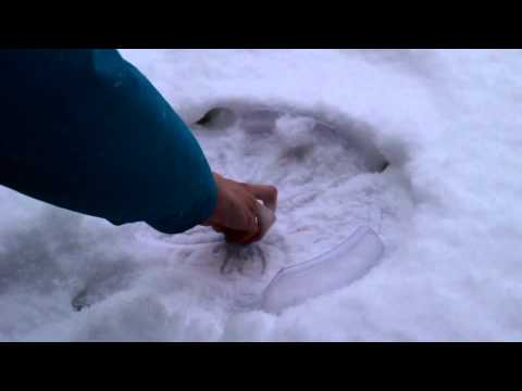 Beyblade Battles In Snow Storm! video