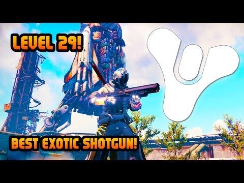 Destiny Level 29 BEST EXOTIC SHOTGUN! Invective Exotic Shotgun Crucible Gameplay! (Destiny Gameplay)