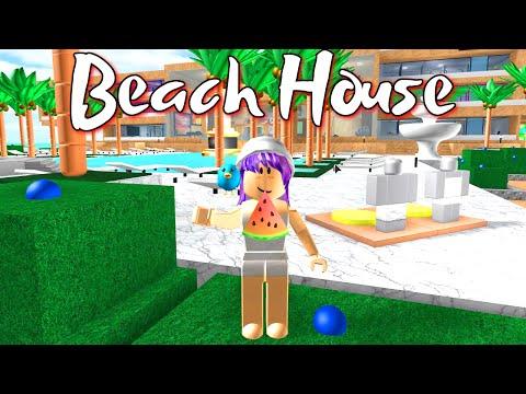 ROBLOX BEACH HOUSE ROLEPLAY | RADIOJH GAMES & GAMER CHAD