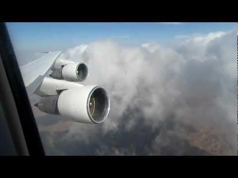 Iran Air Boeing 747-200 In flight 1 - Cabin & Window View