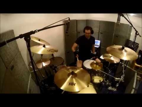 PETR CECH drum cover of BELIEVE - EDDIE STOILOW