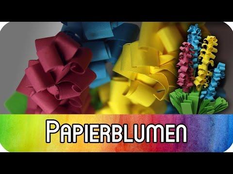 DIY Ostern Dekoration: Papierblumen Für Den Frühling | KreativBUNT