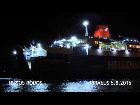 NISSOS RODOS arrival at Piraeus