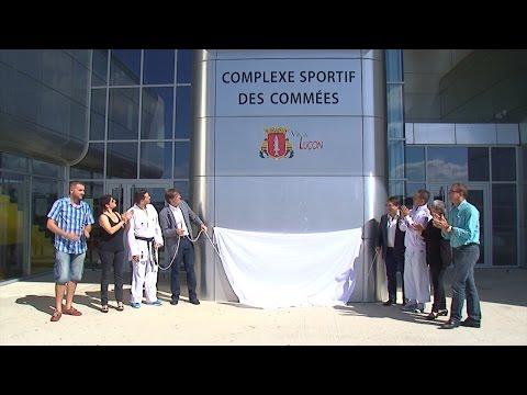 Luçon : le complexe sportif des Commées inauguré