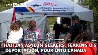 Канада 1104: Большинство гаитян-нелегалов депортируют на родину
