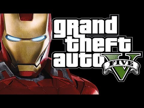 GTA 5 - Iron Man Mod  -  Grand Theft Auto 5  PC