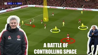 Tactical Analysis | Manchester United 0 - 1 Barcelona | How to create space |
