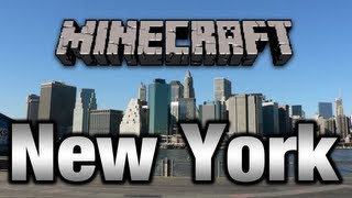 Minecraft New York City Map DOWNLOAD !!! 1.4.5 (Time Square) [HD 720p]