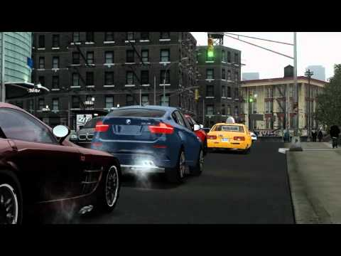 [GTA 4] Review : BMW X6 M E71. HD