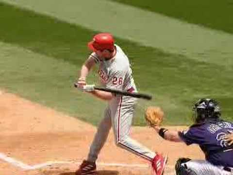 Chase Utley Video