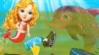 Fun Girl Care Kids Games - Sweet Baby Girl Mermaid Life - Magical ocean world! Fun Explorer Makeover
