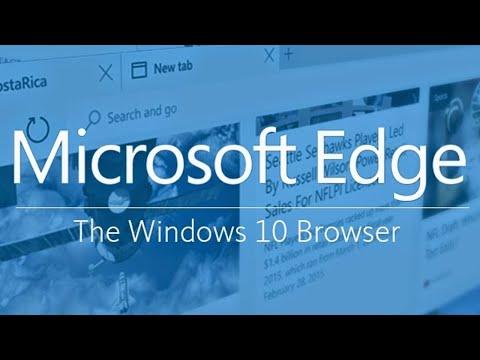 Substituto do Internet Explorer será o EDGE, será que vai ser melhor?