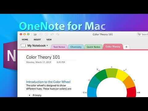 Microsoft OneNote for Mac Demo