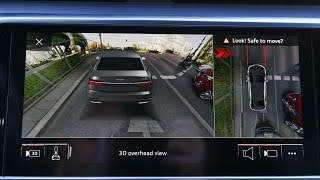 Audi: 360 degree cameras system. Audi A6, A7, A8, Q8 :: [1001cars]