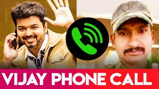 Vijay Surprise Phone Call To His Fan | Kajal Agarwal, Iron Man