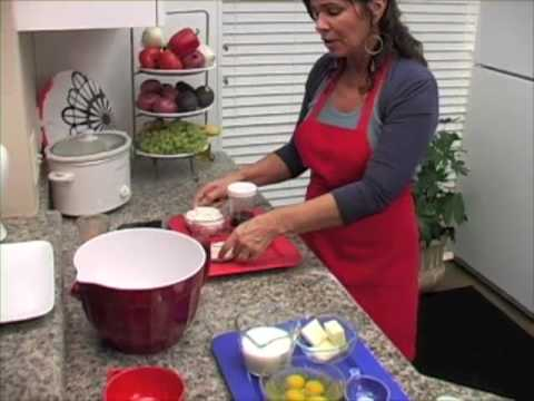 Granny Nancy's Kitchen Cooking Show Fried Chicken American food network www.grannynancyskitchen.com