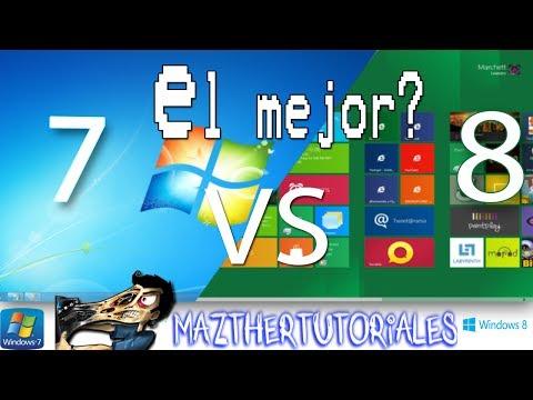 Windows 7 o Windows 8 Cual es el Mejor?