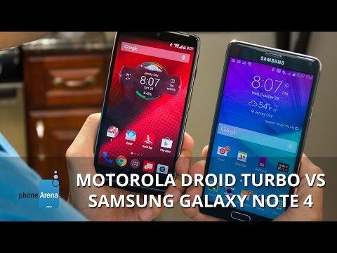 Motorola DROID Turbo vs Samsung Galaxy Note 4 (2)