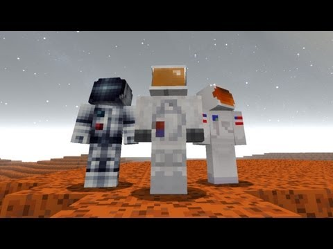 Beneath The Red Planet (Minecraft Machinima Movie)