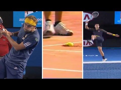Best funny moments in tennis part 2/лучшие приколы в теннисе часть 2