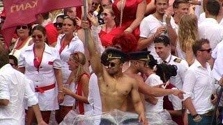 Amsterdam Gay Pride Canal Parade 2014