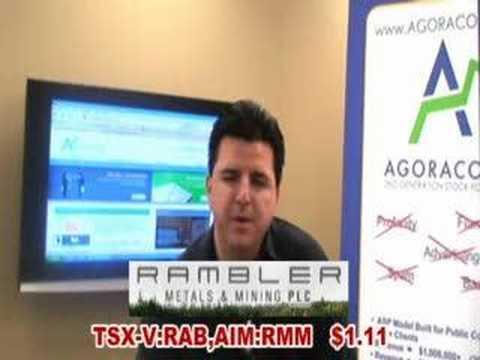 agoracom small cap tv