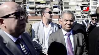 وزير الآثار ومحافظ بورسعيد يزوران موقع «متحف بورسعيد»