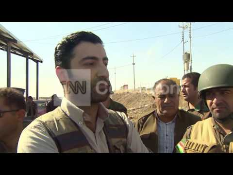 IRAQ-KURDS FIRST LINE OF DEFENSE AGAINST ISIS