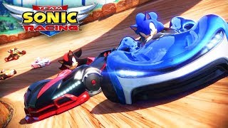 SONIC RACING - O INÍCIO DO JOGO com o SONIC!!! (Gameplay)