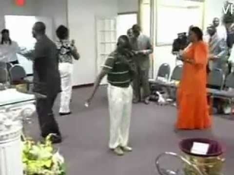 Crazy Pastor Dancing  Azonto @ Church