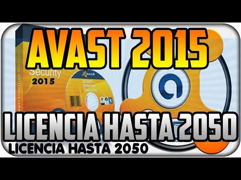 Avast Internet Security 2015 Full Licencia Hasta año 2050