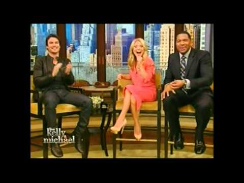 Ian Somerhalder Kelly & Michael interview