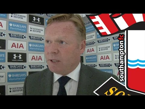 Koeman: Southampton on track for Europe after win at Tottenham