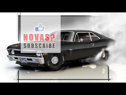 RARE! 1971 CHEVY NOVA WITH A BUILT 383! WATCH THE 100 FOOT BURNOUT!