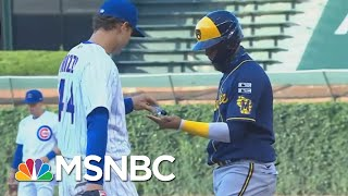 Hayes On Baseball's COVID-19 Crisis: You Can't Play Catch In The Middle Of A Fire | All In | MSNBC