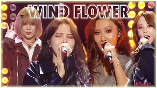 Comeback Stage Mamamoo Wind Flower 마마무 Wind Flower Show Music Core 20181201